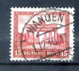 Deutsches Reich NOTHILFE BAUWERKE 451 gestempelt (3)