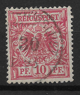 Deutsches Reich KRONE/ADLER 47b gestempelt (BPP JÄSCHKE) (V)