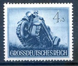 DR TAG der WEHRMACHT 874y postfrisch