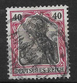 Deutsches Reich GERMANIA o. WZ 75 gestempelt (V)