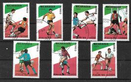 NICARAGUA 2934-2938 gestempelt