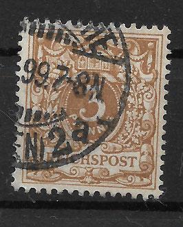Deutsches Reich KRONE & ADLER 45c gestempelt (BPP ZENKER) (7)