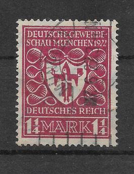 Deutsches Reich GEWERBESCHAU 199a gestempelt (BPP BAUER) (2)