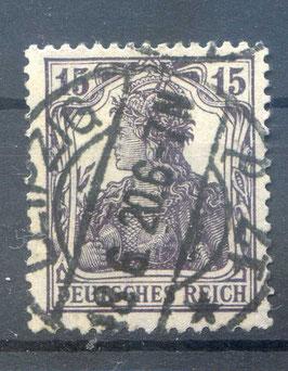 Deutsches Reich GERMANIA 101a gestempelt (BPP BAUER) (III)