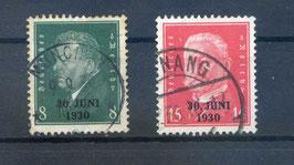 Deutsches Reich FREIMARKE 444-445 gestempelt (3)