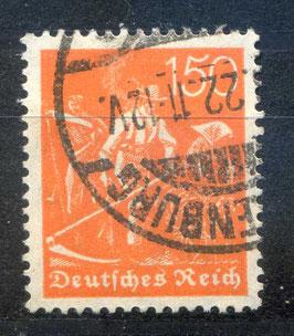 Deutsches Reich FREIMARKE 189 gestempelt
