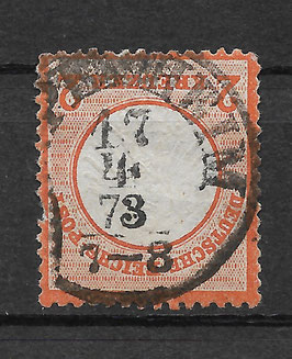Deutsches Reich BRUSTSCHILD 15 gestempelt (BPP KRUG) (2)
