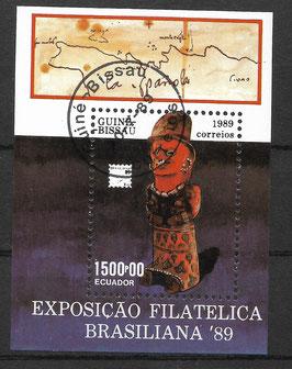 GUINEA-BISSAU Block 280 gestempelt