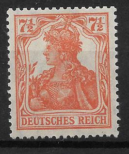Deutsches Reich GERMANIA 99a ungebraucht (INFLA)