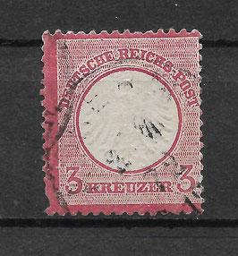Deutsches Reich BRUSTSCHILD 9 gestempelt (BPP KRUG)