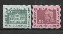DDR 733-734 postfrisch