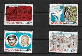 NICARAGUA 2371-2374 gestempelt