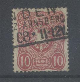 Deutsches Reich PFENNIG 41 Ib gestempelt (BPP JÄSCHKE)