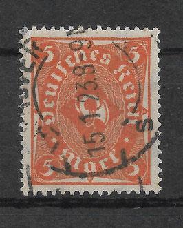 Deutsches Reich FREIMARKE POSTHORN 227a gestempelt (INFLA) (2)