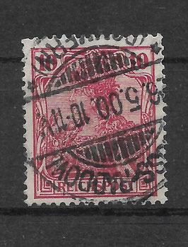 Deutsches Reich REICHSPOST 56b gestempelt (BPP JÄSCHKE) (3)