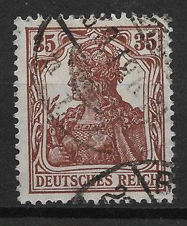 Deutsches Reich GERMANIA 103a gestempelt (BPP BAUER)