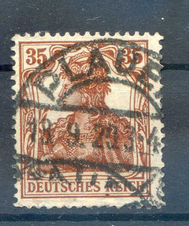 Deutsches Reich GERMANIA 103b gestempelt (BPP BAUER) (4)