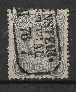 Deutsches Reich PFENNIGE 36a gestempelt (BPP WIEGAND) (14)