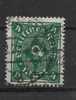 Deutsches Reich FREIMARKE POSTHORN 226a gestempelt (INFLA)