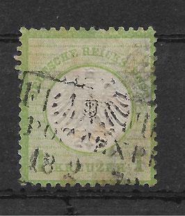 Deutsches Reich BRUSTSCHILD 7 gestempelt (BPP KRUG) (2)