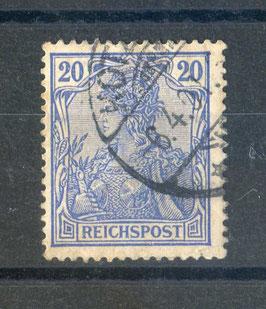 Deutsches Reich REICHSPOST 57 gestempelt
