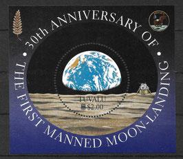 TUVALU Block 68 postfrisch