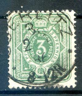 Deutsches Reich PFENNIG 39 Ia gestempelt (BPP JÄSCHKE) (5)