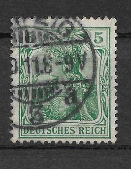 Deutsches Reich GERMANIA 85 Ia gestempelt (BPP JÄSCHKE) (IV)