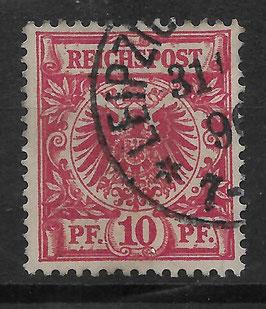 Deutsches Reich KRONE/ADLER 47d gestempelt (BPP JÄSCHKE) (V)