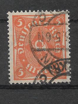 Deutsches Reich FREIMARKE POSTHORN 227a gestempelt (INFLA) (4)