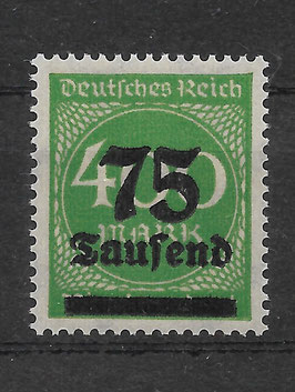 Deutsches Reich FREIMARKE 287b postfrisch (INFLA)
