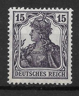 Deutsches Reich GERMANIA 101a postfrisch (BPP BAUER)