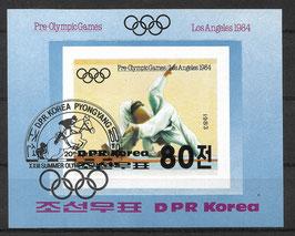 Nordkorea Block 142 gestempelt
