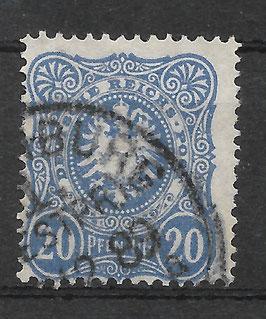 Deutsches Reich PFENNIG 42 Ic gestempelt (BPP WIEGAND) (VI)