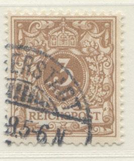 Deutsches Reich KRONE/ADLER 45c gestempelt (BPP JÄSCHKE) (V)