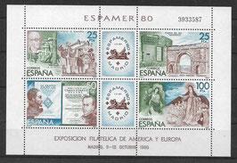 Spanien Block 21 postfrisch (2)