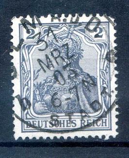 Deutsches Reich GERMANIA o. WZ 68 gestempelt (II)