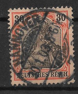 Deutsches Reich GERMANIA 74 gestempelt (V)