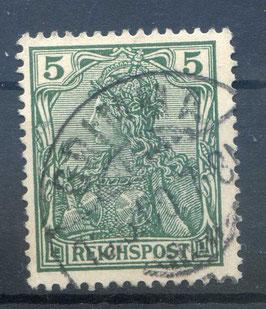 Deutsches Reich REICHSPOST 55 gestempelt (5)