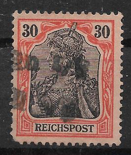 Deutsches Reich REICHSPOST 59 gestempelt (3)