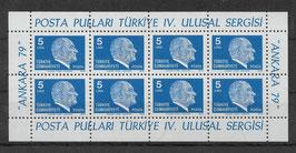 Türkei Kleinbogen 2482 postfrisch