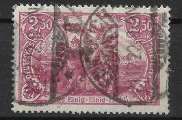 Deutsches Reich GERMANIA 115e gestempelt (INFLA)
