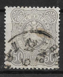 Deutsches Reich PFENNIGE 36a gestempelt (BPP WIEGAND) (13)