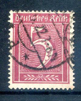 Deutsches Reich FREIMARKE 158 gestempelt