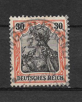 Deutsches Reich GERMANIA 89 Ix gestempelt (BPP JÄSCHKE) (III)