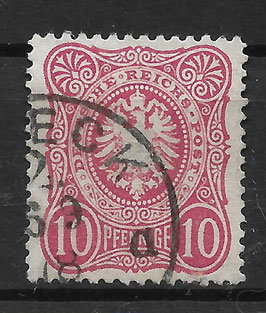 Deutsches Reich PFENNIGE 33a gestempelt (BPP WIEGAND) (6)