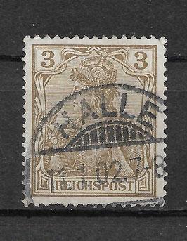 Deutsches Reich REICHSPOST 54a gestempelt (BPP JÄSCHKE)