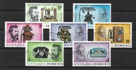 GRENADA/GRENADINEN 209-215 gestempelt
