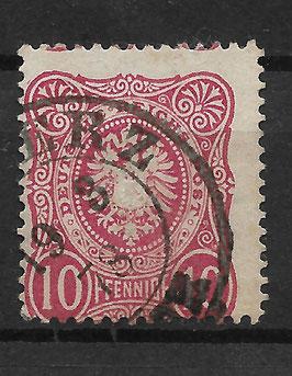 Deutsches Reich PFENNIGE 33a gestempelt (BPP WIEGAND) (15)