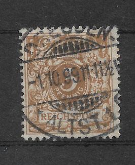 Deutsches  Reich KRONE & ADLER 45c gestempelt (BPP WIEGAND) (3)